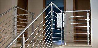 ringhiere scale ferro inox interno esterno industriali corrimano