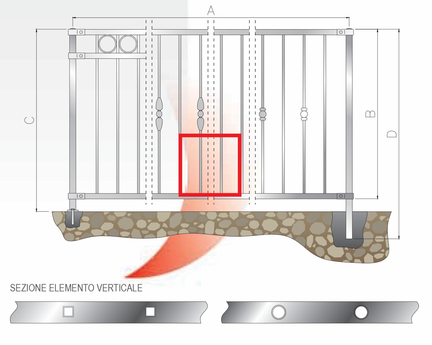 recinzione bordata tubo 4