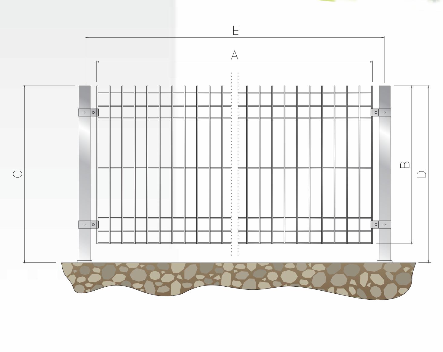 recinzione modul fil 4