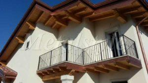 parapetto balaustra balconi ferro battuto 09-1