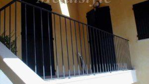 parapetto balaustra balconi ferro battuto 07