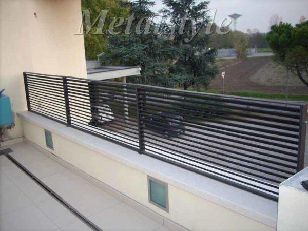 parapetto balaustra balconi ferro battuto 10