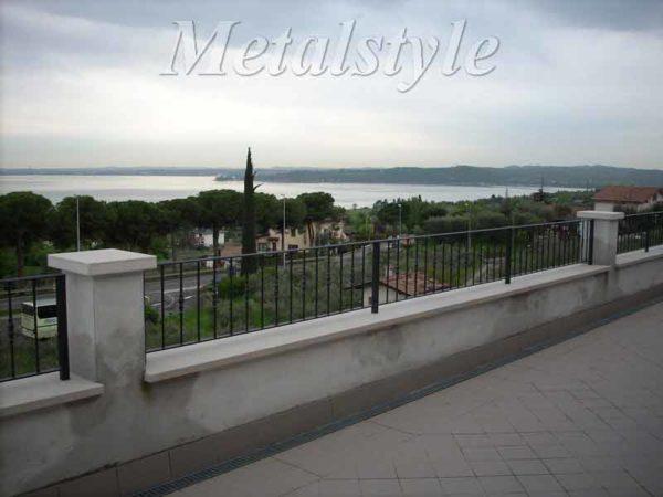 balaustrade railing parapet balcony wrought iron 11