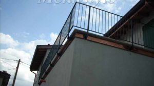 balaustrade railing parapet balcony wrought iron 14