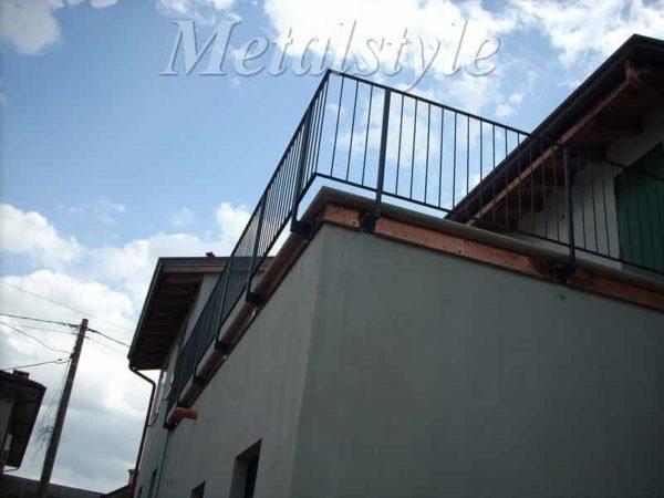 parapetto balaustra balconi ferro battuto 14