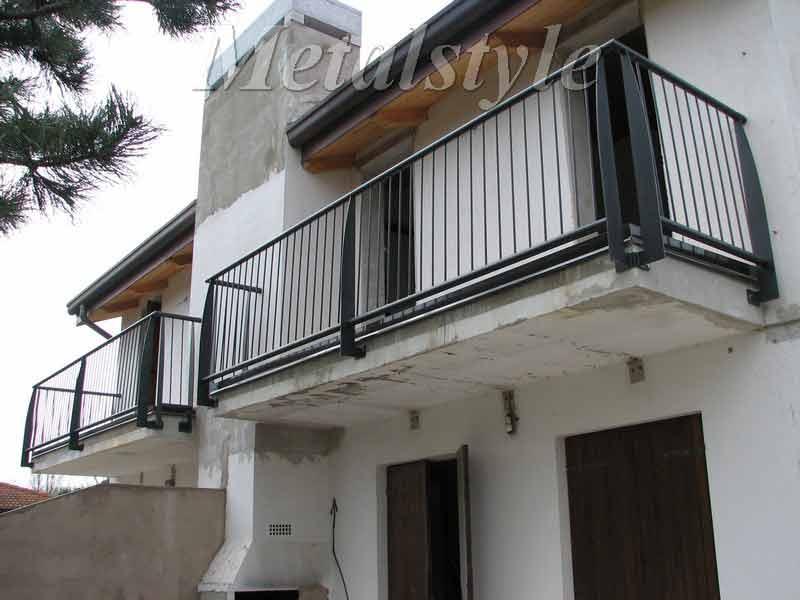 balaustrade railing parapet balcony wrought iron 16-1