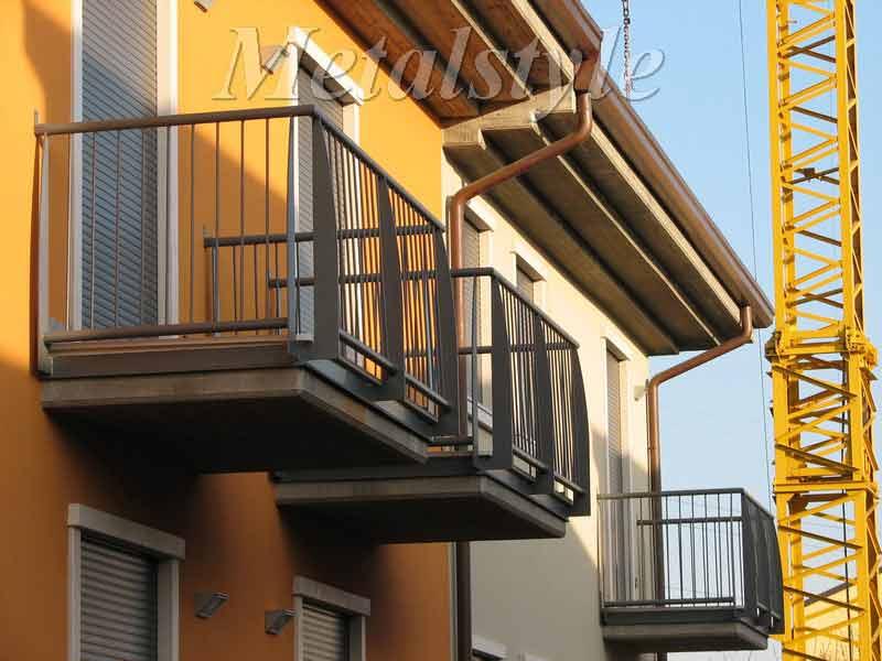 balaustrade railing parapet balcony wrought iron 16-3