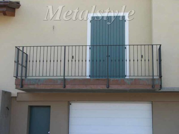 balaustrade railing parapet balcony wrought iron 22