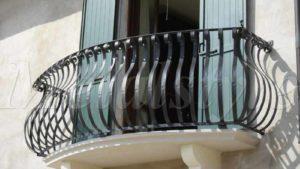 parapetto balaustra balconi ferro battuto 23-1