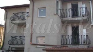 balaustrade railing parapet balcony wrought iron 25