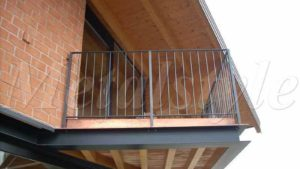 balaustrade railing parapet balcony wrought iron 26-1