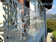 balaustrade railing parapet balcony wrought iron 48_02
