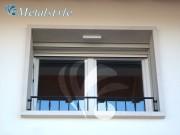 balaustrade railing parapet balcony wrought iron 51_02