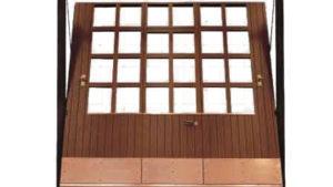 porta basculante acciaio garage - porte basculanti finestrature