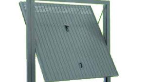 porta basculante acciaio garage - porte basculanti fori circolari