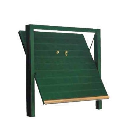 porta basculante acciaio garage - porte basculanti Orizzont Classic