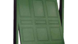 porta basculante acciaio garage - porte basculanti Sirmione