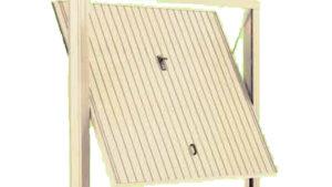porta basculante acciaio garage - porte basculanti standard