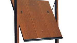 porta basculante acciaio garage - porte basculanti Vertical Small