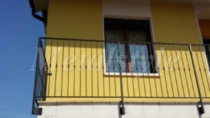 balaustrade railing parapet balcony wrought iron 13