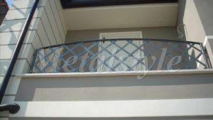 parapetto balaustra balconi ferro battuto 19-1