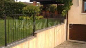 balaustrade railing parapet balcony wrought iron 24-2