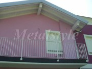 balaustrade railing parapet balcony wrought iron 45-3