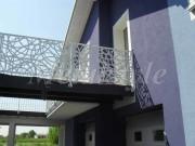 balaustrade railing parapet balcony wrought iron 47-3
