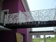 balaustrade railing parapet balcony wrought iron 47-4