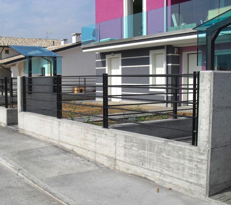 prezzi recinzione ferro battuto