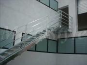 stairs iron handrail railings industrial 10-2