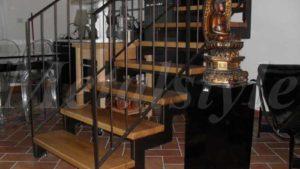 scale ferro corrimano parapetto 11-1