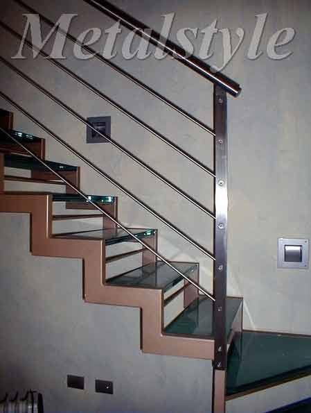 scale ferro corrimano parapetto 25-1
