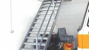 scale ferro corrimano parapetto industriale 30