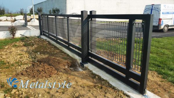 cancello scorrevole industriale 74 01