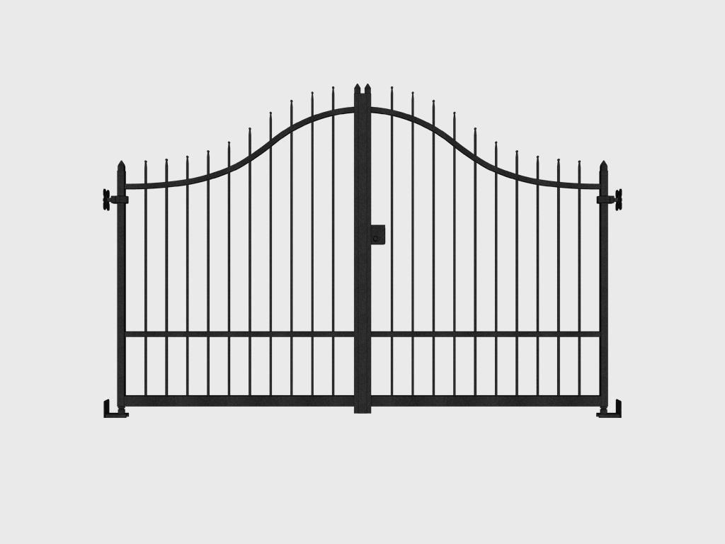 cancello cuneo ferro ante
