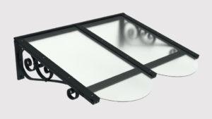 pensilina tettoie ferro plexiglass liberty