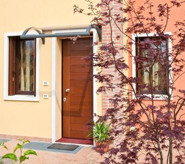 pensilina tettoie ferro plexiglas prezzi preventivo catalogo