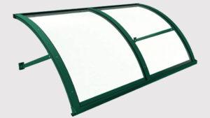 pensilina tettoie ferro plexiglass scudo