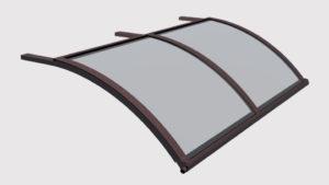 pensilina tettoie ferro plexiglass soffitto