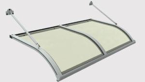 pensilina tettoie ferro plexiglass tiranti
